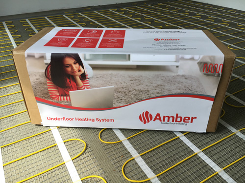Amber offers a discrete solution to keep the whole room warm and cosy