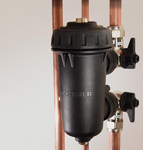 Worcester's Greenstar System Filter improves heating system performance