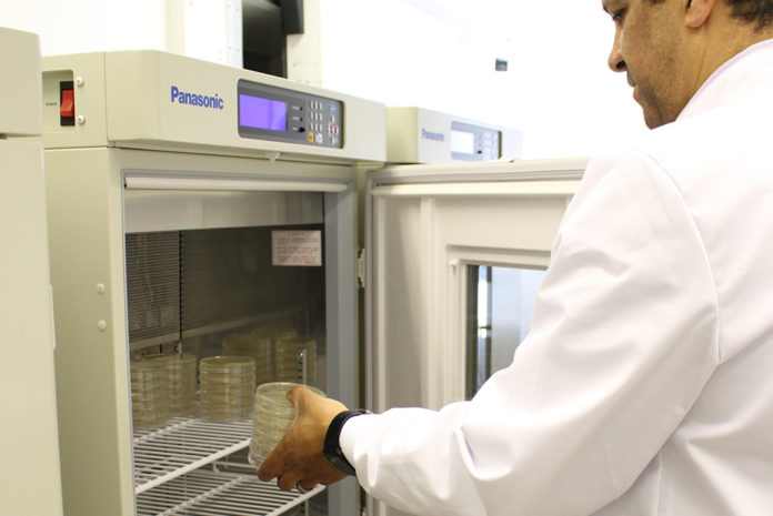 At ADEY, microbiological testing is available alongside chemical testing