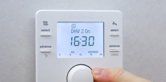 Re-establishing the connection to RF boiler controls