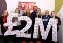 Travis Perkins Plumbing & Heating Division has raised £2 Million for the Teenage Cancer Trust