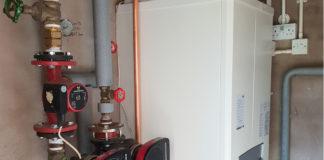 A ProTec boiler at Ivybank House