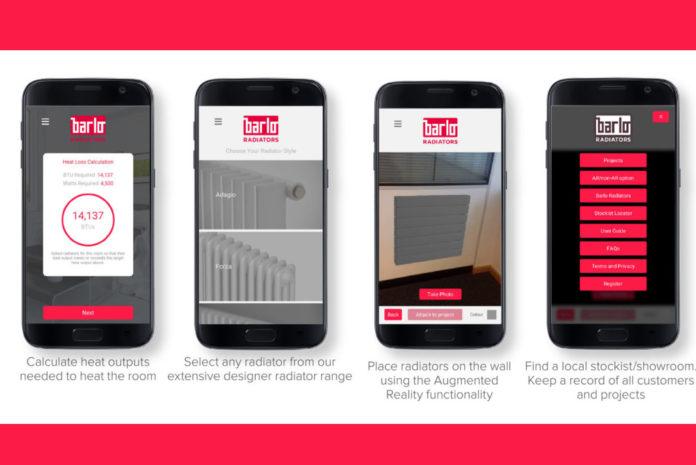 The Barlo Designer Radiator app
