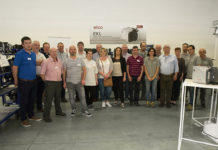 Attendees on ELCO Burners' EKL training course