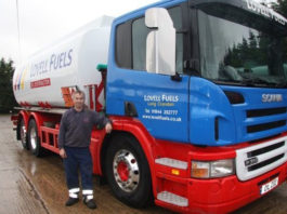 Last years' winner: Clifford Tappin, Lovell Fuels