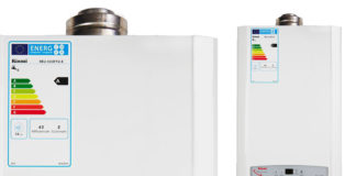 Multipoint continuous flow ErP A-rated gas fired 11i water heater