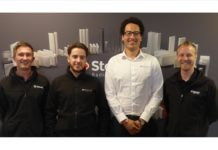 Stelrad's senior brand specialists - Steven Preston, Jonathan Roberts, Stuart Dixon and Andrew Voice