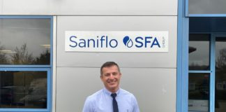 Simon Emmons has been appointed as sales director of Saniflo