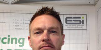 Tristan James, the new managing director, ESi Controls